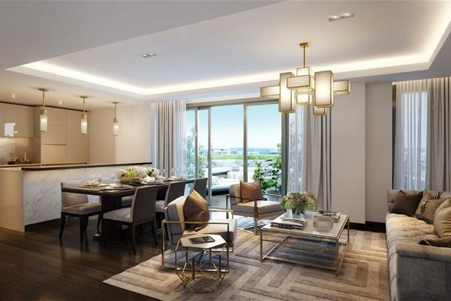 Thumbnail Flat for sale in North Wharf Road, London