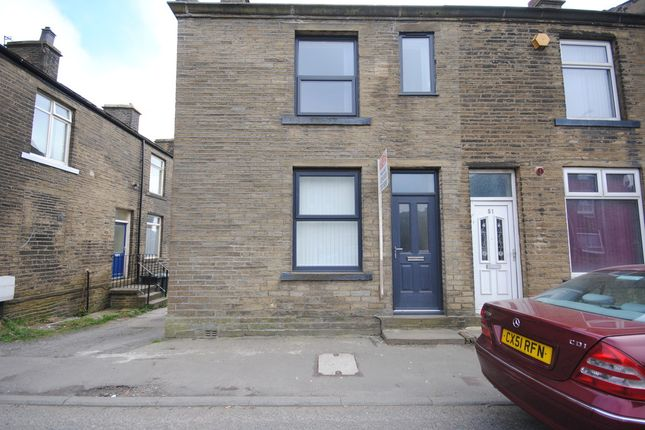 Thumbnail End terrace house to rent in West End, Queensbury, Bradford