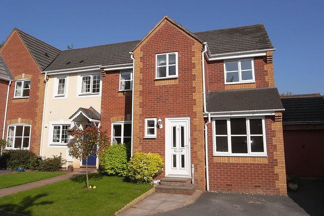 Thumbnail End terrace house to rent in Brooke Road, Ledbury
