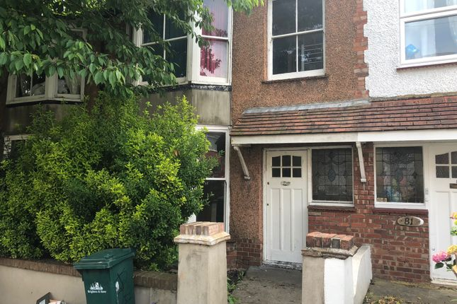 Thumbnail Terraced house to rent in Stanmer Villas, Brighton