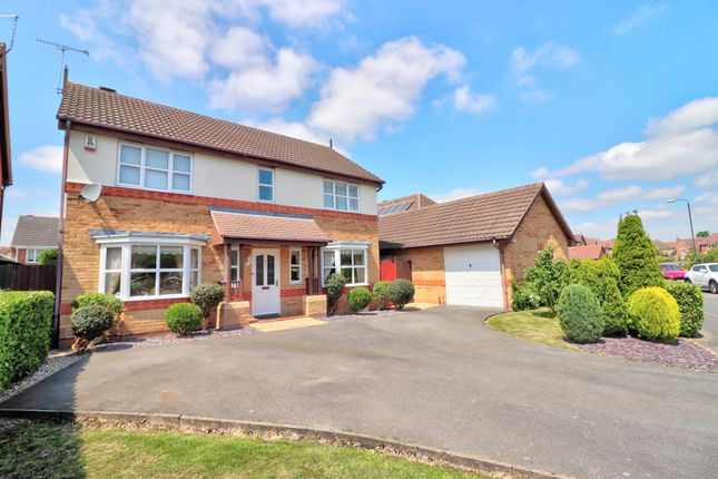 Thumbnail Detached house for sale in Templebell Close, Littleover, Derby