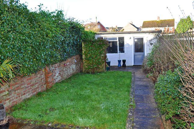 Garden of Anthony Road, Exeter EX1
