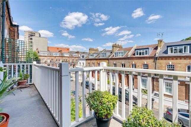Terrace of St Dunstans Road, Barons Court, London W6