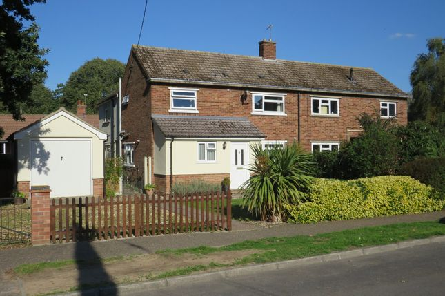 Thumbnail Semi-detached house for sale in The Park, East Harling, Norwich