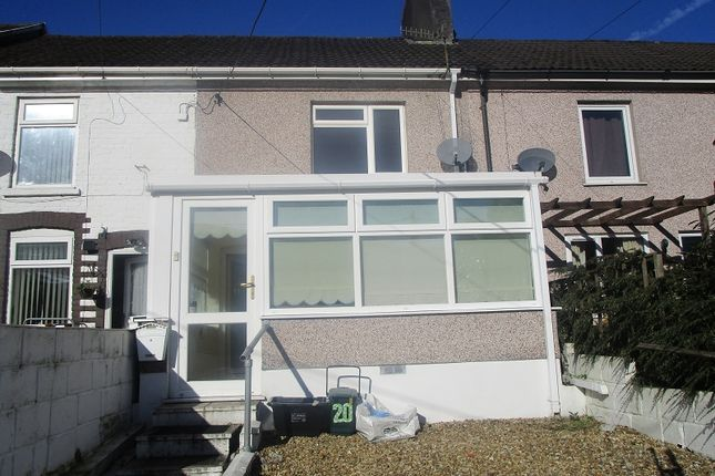 Thumbnail Terraced house to rent in Canal Terrace, Ystalyfera, Swansea.