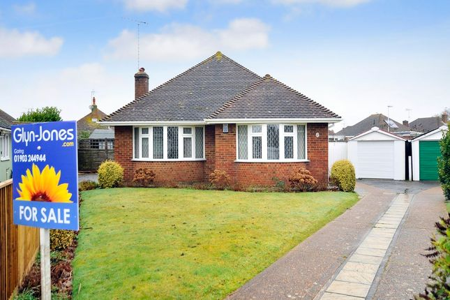 Thumbnail Detached bungalow for sale in Westergate Close, Goring-By-Sea, Worthing
