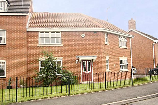 Thumbnail Semi-detached house to rent in Blackbades Boulevard, Warwick, Warwickshire