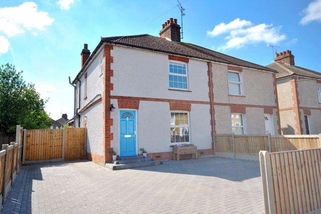 Thumbnail Semi-detached house for sale in Cross Road, Maldon