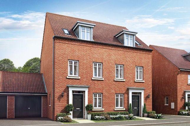 "Thumbnail Terraced house for sale in ""Greenwood"" at Carters Lane, Kiln Farm, Milton Keynes"