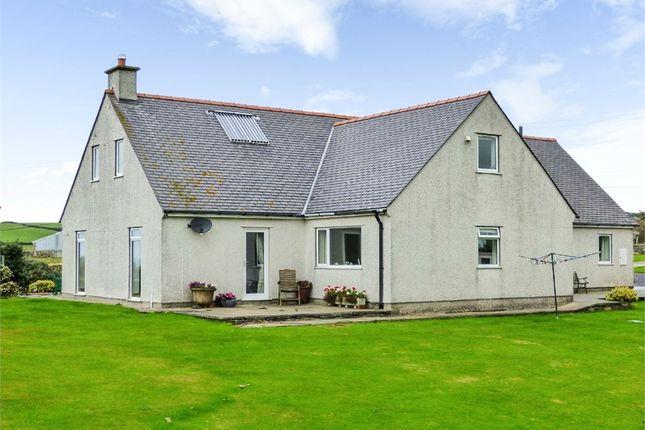 Thumbnail Detached house for sale in Rhydwyn, Rhydwyn, Holyhead, Anglesey