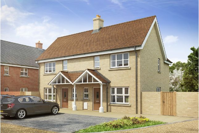 Thumbnail Semi-detached house for sale in Long Melford, Sudbury, Suffolk