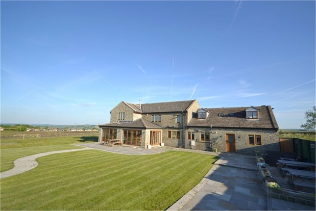Thumbnail Detached house for sale in Denby Lane, Upper Denby, Huddersfield, West Yorkshire
