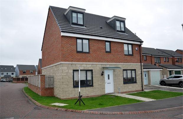 Thumbnail Detached house to rent in Derwent Water Drive, Stella, Blaydon, Tyne & Wear.
