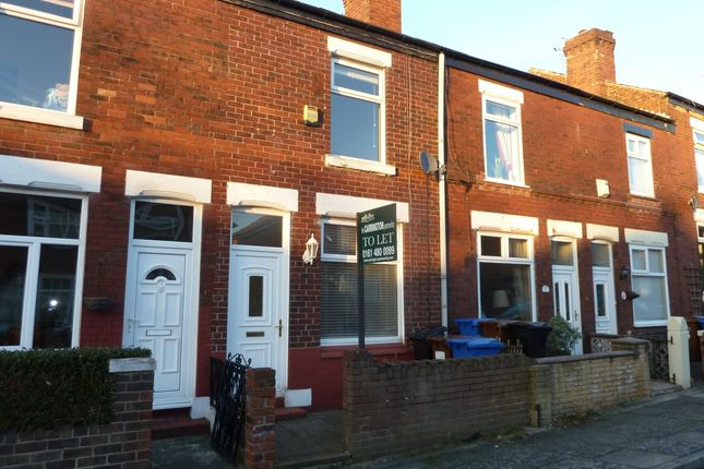 Thumbnail Terraced house to rent in Courthill Street, Offerton, Stockport