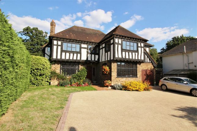 Thumbnail Detached house for sale in St Georges Road, Bickley, Kent