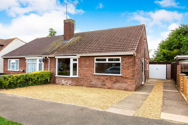 Thumbnail Semi-detached bungalow for sale in Alfred Street, Stanwick, Wellingborough