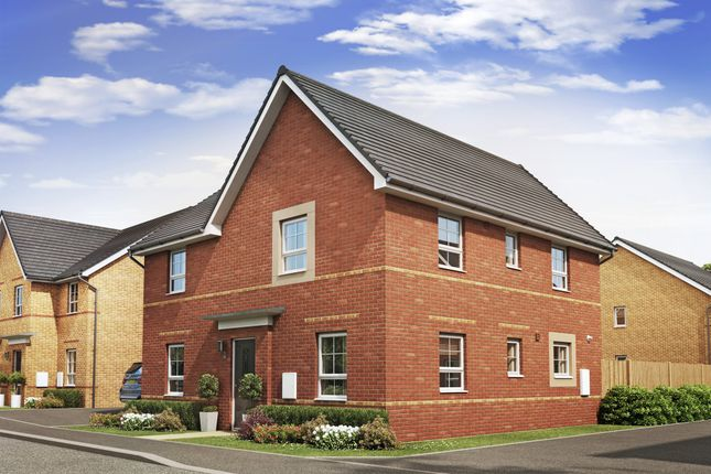 "Thumbnail Detached house for sale in ""Alderney"" at Lancaster Avenue, Watton, Thetford"
