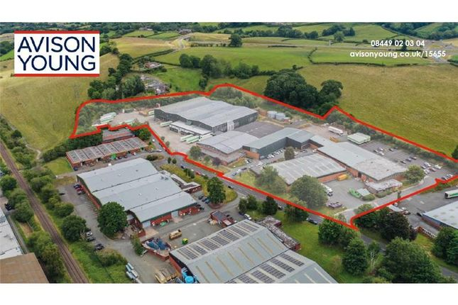 Thumbnail Warehouse for sale in Vastre Industrial Estate, Units A-C, Heol Vastre, Newtown, Montgomeryshire, Wales