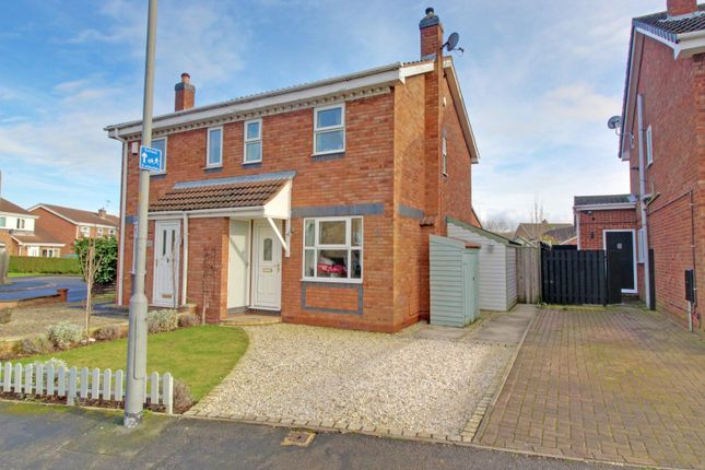 Front of Willow Rise, Thorpe Willoughby, Selby YO8