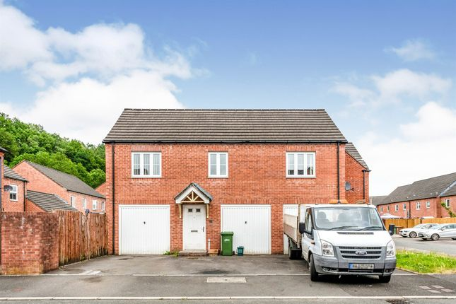 Thumbnail Terraced house for sale in Bluebell View, Llanbradach, Caerphilly