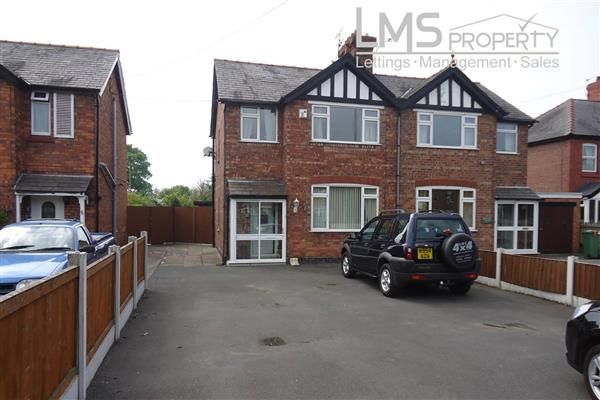 Thumbnail Semi-detached house to rent in Middlewich Road, Winsford