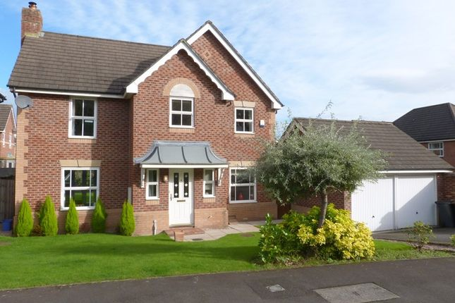 Thumbnail Detached house for sale in Westholme Close, Congleton, Cheshire