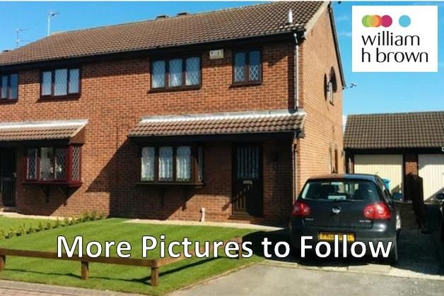Thumbnail Semi-detached house to rent in Lawsons Close, Hull