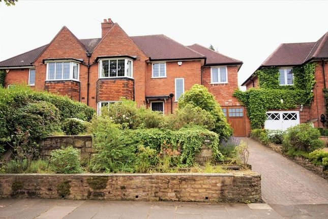 Thumbnail Semi-detached house for sale in Heath Road South, Bournville, Birmingham