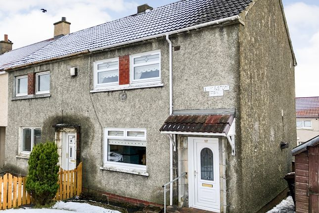 Thumbnail End terrace house for sale in Livingston Drive, Plains, Airdrie