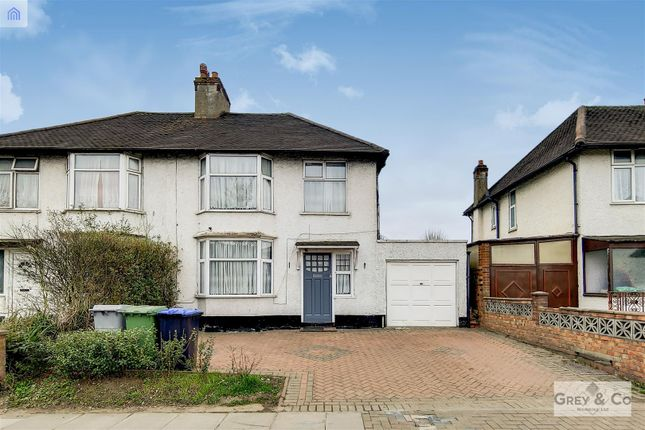 Thumbnail Semi-detached house for sale in East Lane, North Wembley, Middlesex