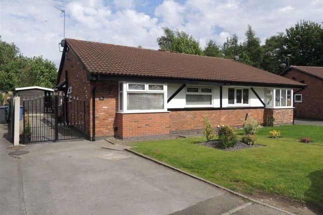 Thumbnail Semi-detached bungalow for sale in Old Oak Drive, Denton, Manchester