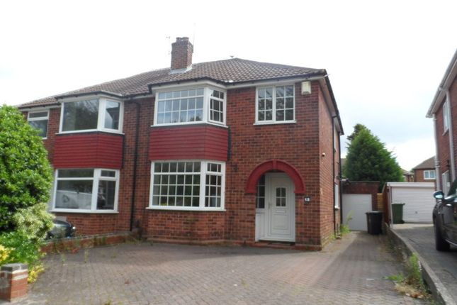 Thumbnail Semi-detached house to rent in Odensil Green, Solihull
