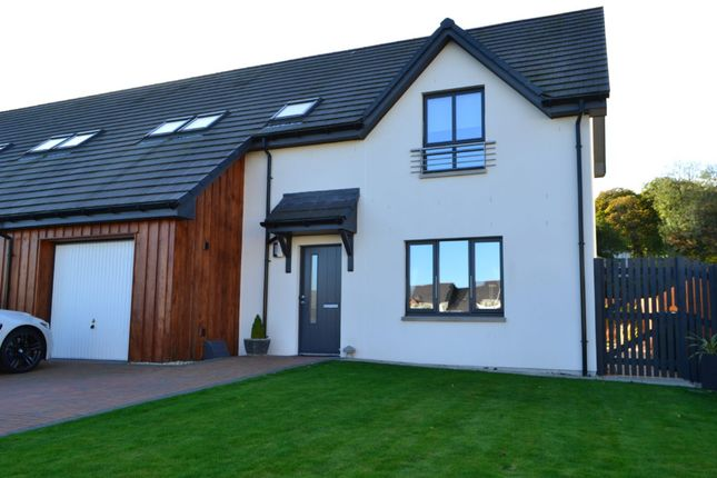 Thumbnail Semi-detached house for sale in 15 Brander Gardens, Forres