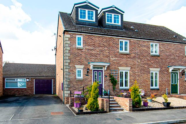 4 bed semi-detached house for sale in Field Close, Pontllanfraith, Blackwood NP12