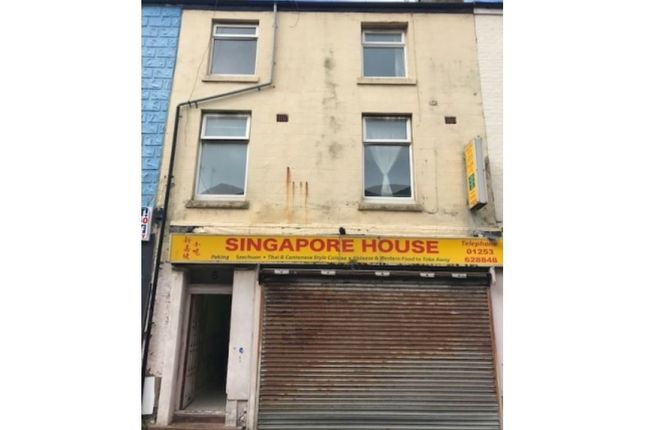 Retail premises for sale in Dale Street, Blackpool
