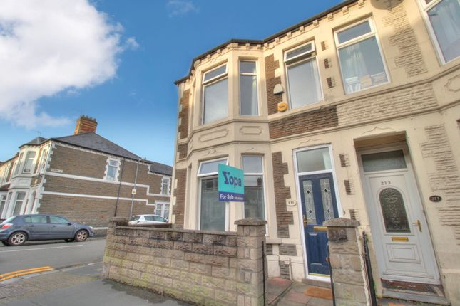 3 bed end terrace house for sale in Carlisle Street, Splott, Cardiff CF24