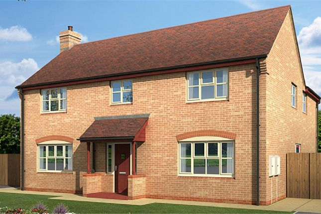 Thumbnail Detached house for sale in Evesham Road, Bishops Cleeve, Cheltenham, Gloucestershire