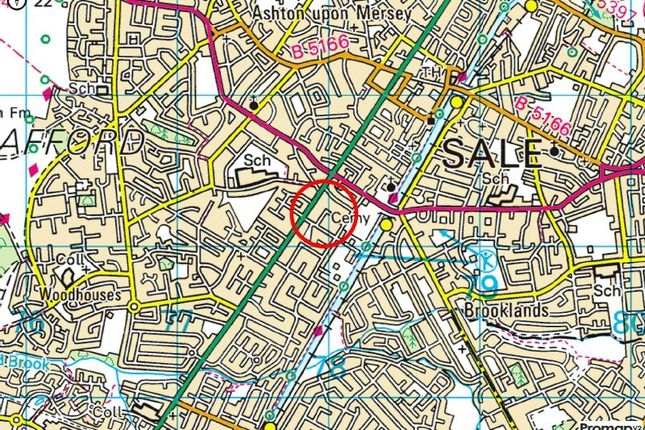 Town Plan of Campbell Road, Sale M33
