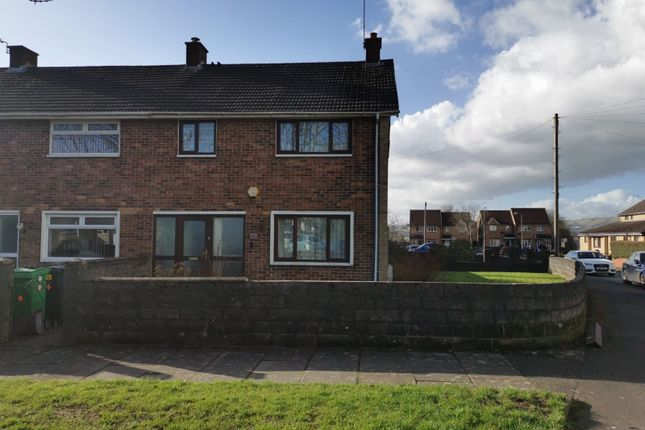 3 bed end terrace house for sale in Elgar Crescent, Llanrumney, Cardiff CF3