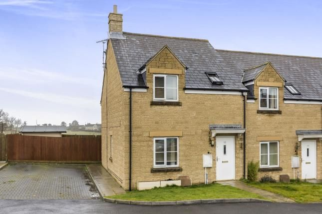 Thumbnail End terrace house for sale in Knottes Close, Winchcombe, Cheltenham, Gloucestershire