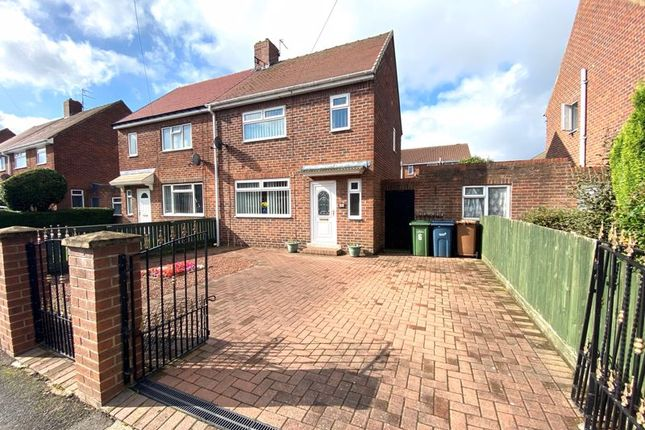 Thumbnail Semi-detached house for sale in Cambridge Road, New Silksworth, Sunderland