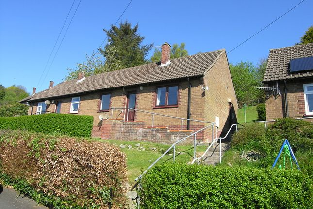 Thumbnail Semi-detached bungalow to rent in The Pinfold, Rothbury, Morpeth
