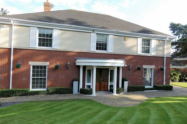 Thumbnail Detached house for sale in Blue Cedars Drive, Bretby, Burton-On-Trent