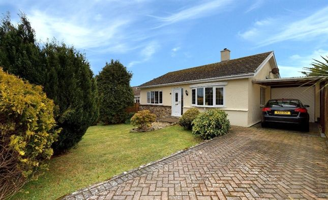 Thumbnail Detached bungalow for sale in Polmeor Close, Carbis Bay