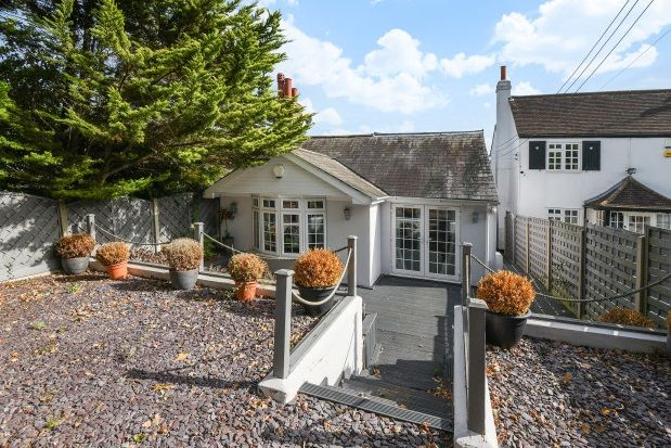 Thumbnail Bungalow to rent in Cocksure Lane, Sidcup