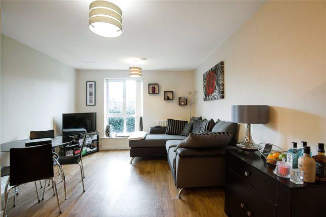 Thumbnail Flat for sale in Harrow Close, Addlestone, Surrey