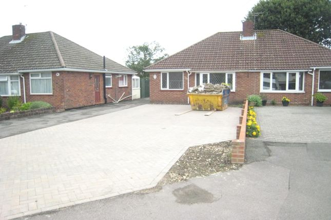 Thumbnail Semi-detached bungalow to rent in Barnwood Road, Fareham