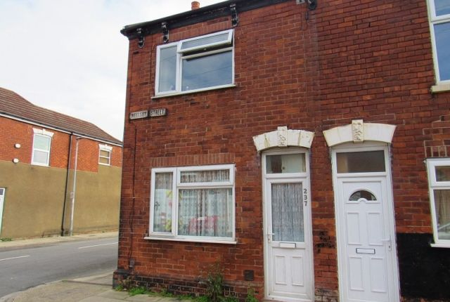 Thumbnail End terrace house to rent in Weelsby Street, Grimsby