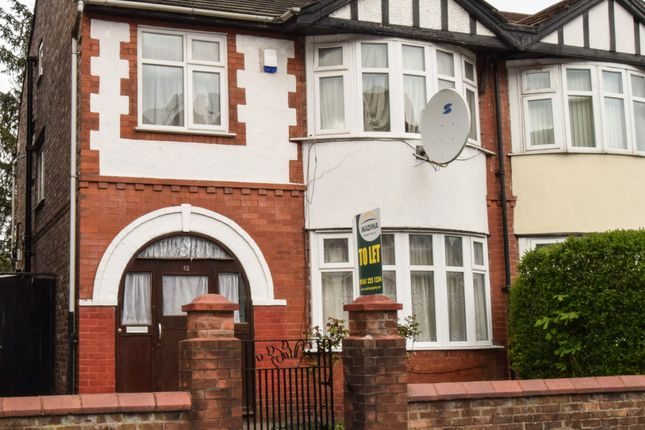 Thumbnail Semi-detached house to rent in Longford Place, Manchester