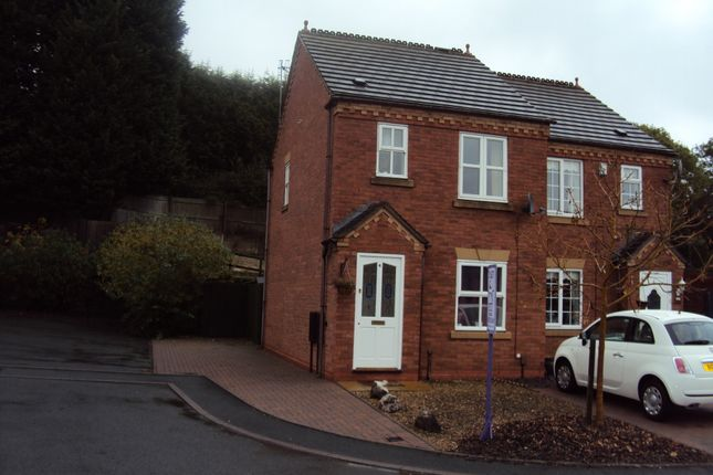 2 bed semi-detached house to rent in Larksfield Mews, Brierley Hill